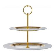 Этажерка для фруктов Weiss Eisch Cosmo, белая/золото, 32 см - арт.72351602, фото 1