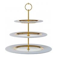Этажерка для фруктов Weiss Eisch Cosmo, белая/золото, 36 см - арт.72351603, фото 1