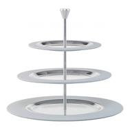 Многоярусная подставка Silber Eisch Colombo, белая/серебро, 36 см - арт.75251603, фото 1