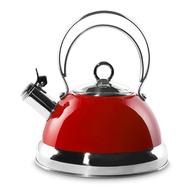 Чайник со свистком Wesco, красный, 2,5 л - арт.340520-02, фото 1