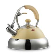 Чайник со свистком Wesco, кремовый, 2,75 л - арт.340521-23, фото 1