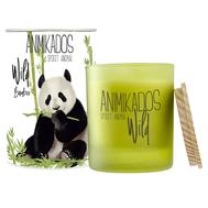 Ароматическая свеча Ambientair Panda - бамбуковый Wild, 40 ч - арт.VV040BMAW, фото 1