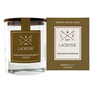 Ароматическая свеча Ambientair «Сандал и бергамот» Lacrosse, круглая - арт.VV040SBLC, фото 1