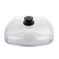Крышка квадратная AMT Glass Lids, стеклянная, 28х28см - арт.AMTE28, фото 1