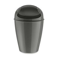 Контейнер для мусора Koziol Del S, для ванной и туалета, темно-серый, 5л - арт.5777665, фото 1