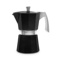 Кофеварка гейзерная Ibili Evva, черная, на 9 чашек - арт.623109, фото 1