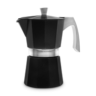 Кофеварка гейзерная Ibili Evva, черная, на 12 чашек - арт.623112, фото 1