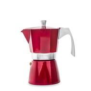 Кофеварка гейзерная Ibili Evva, красная, на 6 чашек - арт.623206, фото 1