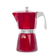 Кофеварка гейзерная Ibili Evva, красная, на 9 чашек - арт.623209, фото 1