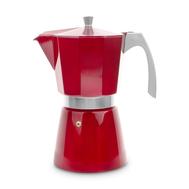 Кофеварка гейзерная Ibili Evva, красная, на 12 чашек - арт.623212, фото 1