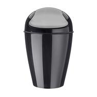 Контейнер для мусора Koziol Del S, для ванной и туалета, черный, 5л - арт.5777526, фото 1