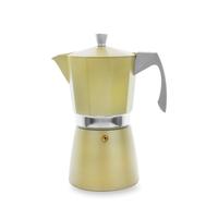 Кофеварка гейзерная Ibili Evva, золотая, на 9 чашек - арт.623909, фото 1