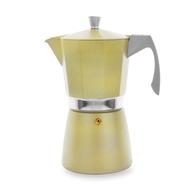 Кофеварка гейзерная Ibili Evva, золотая, на 12 чашек - арт.623912, фото 1