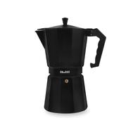 Кофеварка эспрессо Ibili Bahia Black, гейзерная, черная, на 12 чашек - арт.612212, фото 1