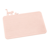 Кухонная доска Koziol Pip, розовая, 30.1х25.1см - арт.3639659, фото 1