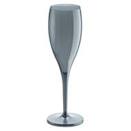 Набор бокалов для шампанского Koziol Superglas Cheers No. 1, серый, 100мл - 4шт - арт.3588540, фото 1