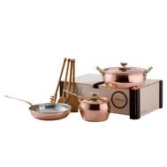 Набор посуды Ruffoni Historia decor, луженая медь - 4 предмета - арт.3305B Ruffoni, фото 1