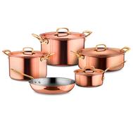 Набор посуды Ruffoni Gustibus, медь с нержавеющим покрытием - 5 предметов - арт.GUSTIBUS-5, фото 1