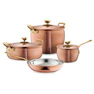 Набор посуды Ruffoni Historia decor, луженая медь - 4 предмета - арт.HISTORIA-4, фото 1