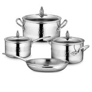 Набор посуды Ruffoni Omegna, нержавеющая сталь - 4 предмета - арт.OMEGNA-4, фото 1