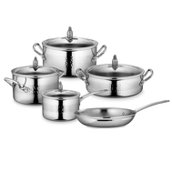 Набор посуды Ruffoni Omegna, нержавеющая сталь - 5 предметов - арт.OMEGNA-5, фото 1