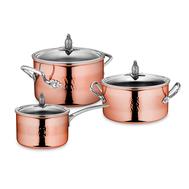 Набор посуды Ruffoni Omegna Cupra, медь с нержавеющим покрытием - 3 предмета - арт.OMEGNA CUPRA-3, фото 1