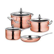 Набор посуды Ruffoni Omegna Cupra, медь с нержавеющим покрытием - 4 предмета - арт.OMEGNA CUPRA-4, фото 1