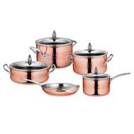 Набор посуды Ruffoni Omegna Cupra, медь с нержавеющим покрытием - 5 предметов - арт.OMEGNA CUPRA-5, фото 1