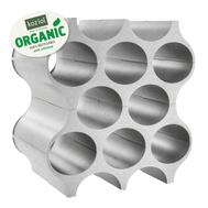 Подставка для бутылок Koziol Set-Up Organic, серая, 36.6см - арт.3596670, фото 1