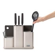 Подставка для кухонных принадлежностей Joseph Joseph Counterstore, серая, 23см - арт.85122, фото 1