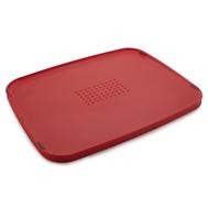 Разделочная доска Joseph Joseph Duo Multi-function, двусторонняя, красная, 34.8х27.2см - арт.80077, фото 1