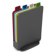 Разделочные доски Joseph Joseph Index™ Mini, в кейсе, графит, 21х15см - 4шт - арт.60098, фото 1
