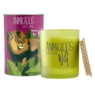 Свеча с ароматом Ambientair Lion - древесный Wild 40 ч - арт.VV040SWAW, фото 1