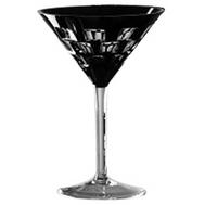 Фужер для мартини Ajka Crystal Domino, 120мл, черный - арт.1/65962/51465/48525, фото 1