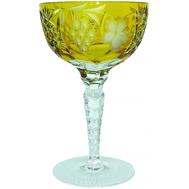 Бокал хрустальный Ajka Crystal Grape, 210мл, желтый - арт.1/amber/64576/51380/48359, фото 1