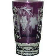 Стакан хрустальный Ajka Crystal Grape, 390мл, фиолетовый - арт.1/amethyst/64579/51380/48359, фото 1