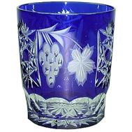 Бокал для виски Ajka Crystal Grape 390мл, синий - арт.1/cobaltblue/64580/51380/48359, фото 1