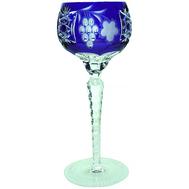 Фужер хрустальный Ajka Crystal Grape, 230мл, синий - арт.1/cobaltblue/64572/51380/48359, фото 1