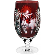 Бокал цветной Ajka Crystal Grape, 450мл, бордовый - арт.1/darkruby/64573/51380/48359, фото 1