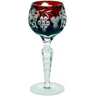 Рюмка хрустальная Ajka Crystal Grape, 60мл, бордовая - арт.1/darkruby/64575/51380/48359, фото 1