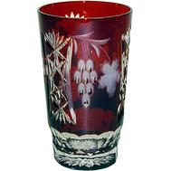 Стакан хрустальный Ajka Crystal Grape, 390мл, бордовый - арт.1/darkruby/64579/51380/48359, фото 1