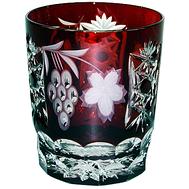 Бокал для виски Ajka Crystal Grape 390мл, бордовый - арт.1/darkruby/64580/51380/48359, фото 1