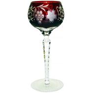 Фужер хрустальный Ajka Crystal Grape, 230мл, бордовый - арт.1/darkruby/64572/51380/48359, фото 1