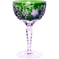 Бокал хрустальный Ajka Crystal Grape, 210мл, зеленый - арт.1/emerald/64576/51380/48359, фото 1