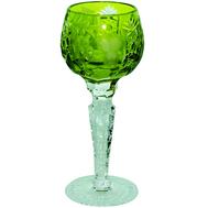 Рюмка хрустальная Ajka Crystal Grape, 60мл, светло-зеленый - арт.1/reseda/64575/51380/48359, фото 1