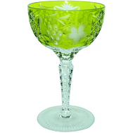 Бокал хрустальный Ajka Crystal Grape, 210мл, светло-зеленый - арт.1/reseda/64576/51380/48359, фото 1