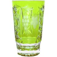 Стакан хрустальный Ajka Crystal Grape, 390мл, светло-зеленый - арт.1/reseda/64579/51380/48359, фото 1