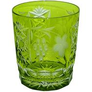 Бокал для виски Ajka Crystal Grape 390мл, светло-зеленый - арт.1/reseda/64580/51380/48359, фото 1