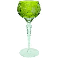 Фужер хрустальный Ajka Crystal Grape, 230мл, светло-зеленый - арт.1/reseda/64572/51380/48359, фото 1
