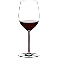 Бокал для вина Cabernet/Merlot Riedel Fatto a Mano, 625мл, розовая ножка - арт.4900/0P, фото 1